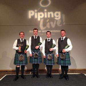 Inveraray International quartet winners 2015