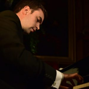 Chris performing solo at Blair Castle for a Keepers of the Quaich banquet